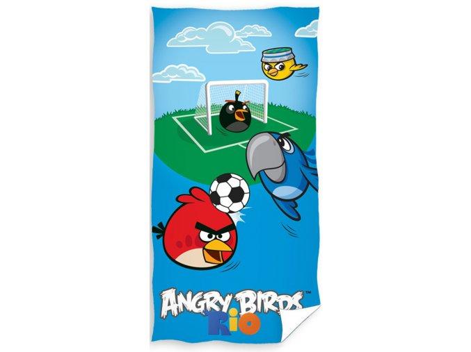 Dětská osuška Angry Birds Fotbal